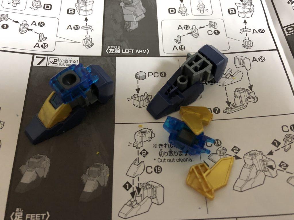 HGガンプラ『ユニコーンガンダム3号機フェネクスデストロイモード』作成しました