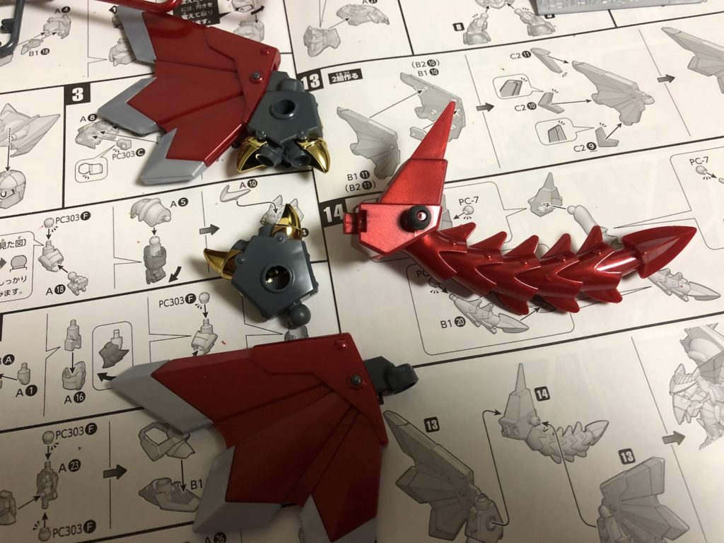 BB戦士『スペリオルドラゴン』ガンプラ製作レビュー【騎士ガンダム物語】