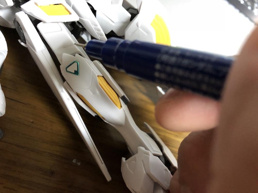 ガンダムマーカー『スミ入れペン』4種類の使い方と特徴を学ぼう!