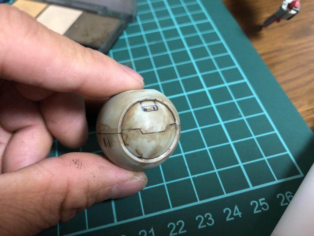 ガンプラ初心者でもウェザリングマスターで簡単に汚し加工できました