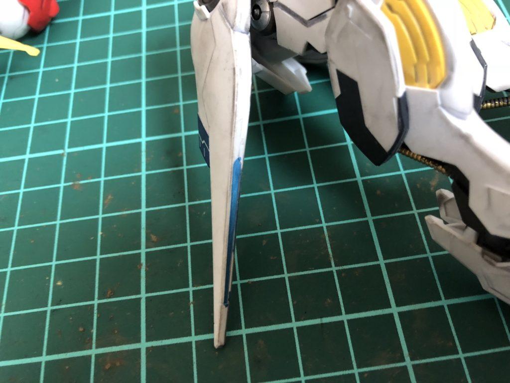 ガンプラ|ガンダムバルバトスを部分塗装+シャドウ&ウェザリング改造