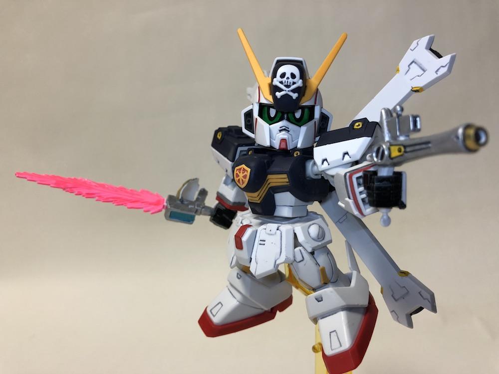【クロスシルエット】宇宙海賊!クロスボーンガンダムX1ガンプラレビュー