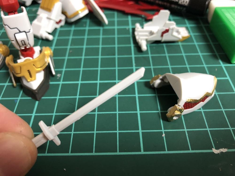 スミ入れ地獄!『RX 零丸』をガンダムマーカーで『塗装』してみた!