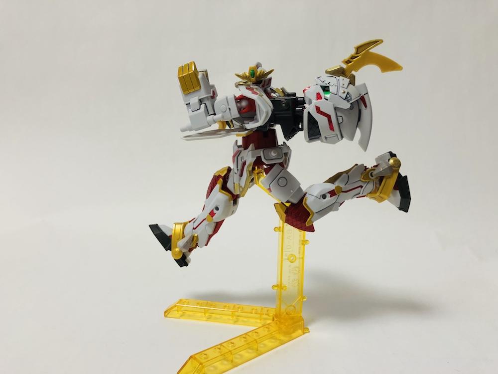 『RX零丸』と武装装甲八鳥を合体して『リアルモードに変形』する方法