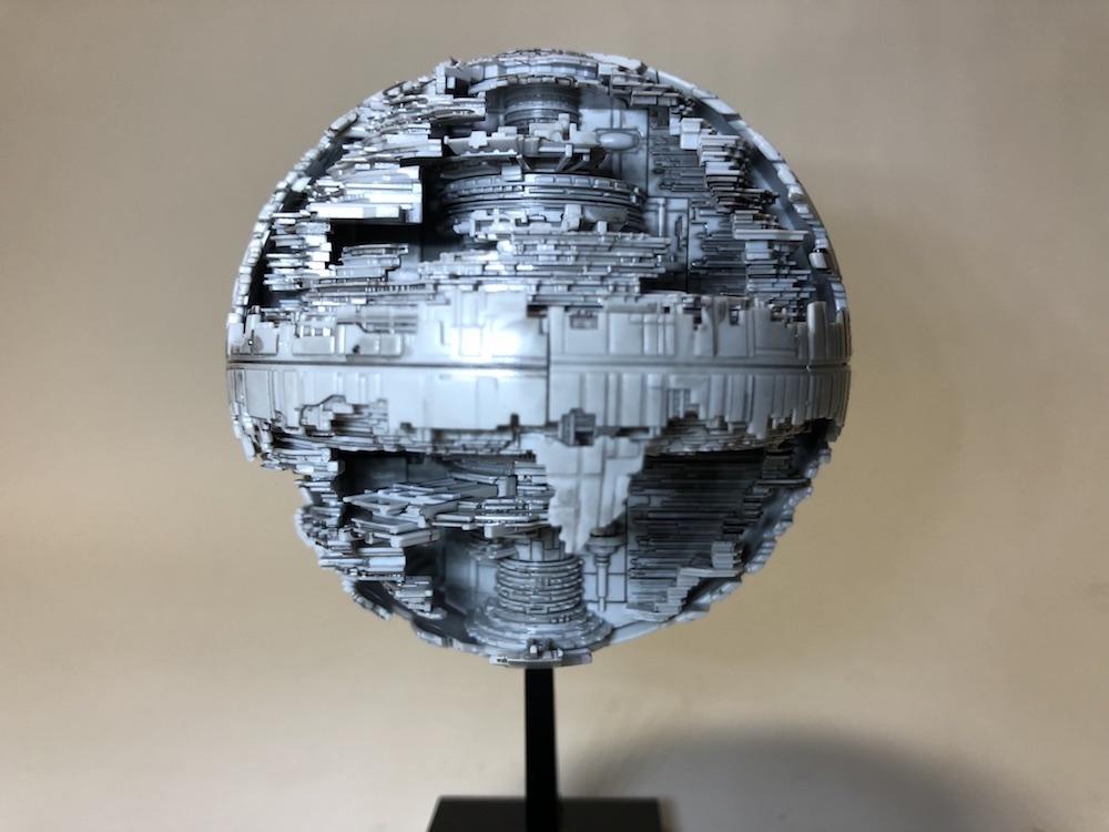 スターウォーズ|ビークルモデル『デススター2』プラモデルレビュー