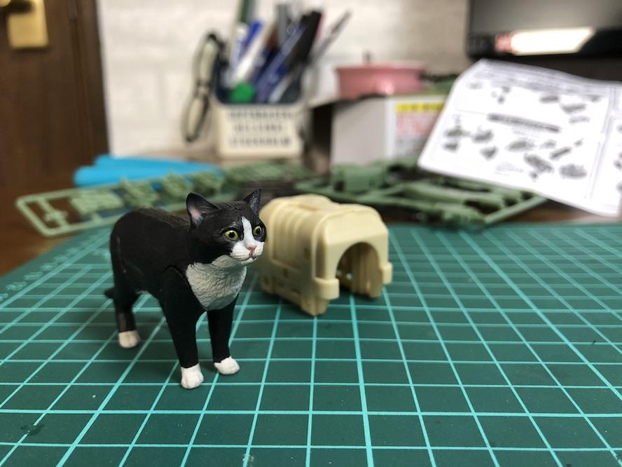 『ねこぶそう てんこ盛り』プラモデルレビュー!可愛い猫には武装させろ!?