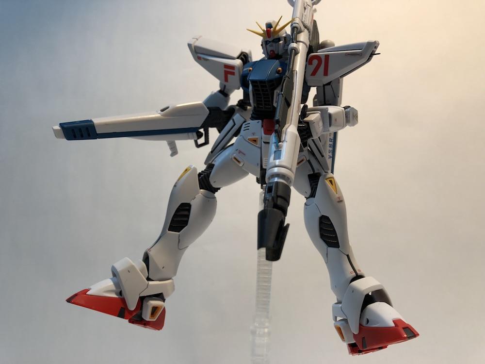 MG『ガンダムF91 Ver2.0』ガンプラレビュー!旧MGから進化した6ポイント