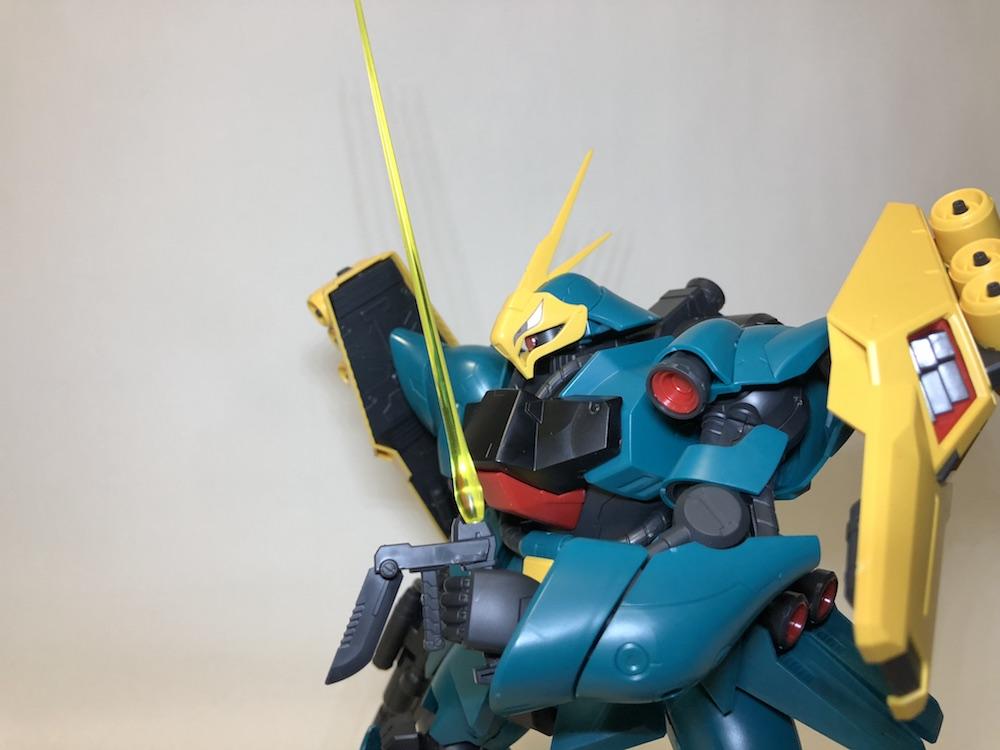 RE/100『ヤクト・ドーガ(ギュネイ・ガス機)』ガンプラレビュー