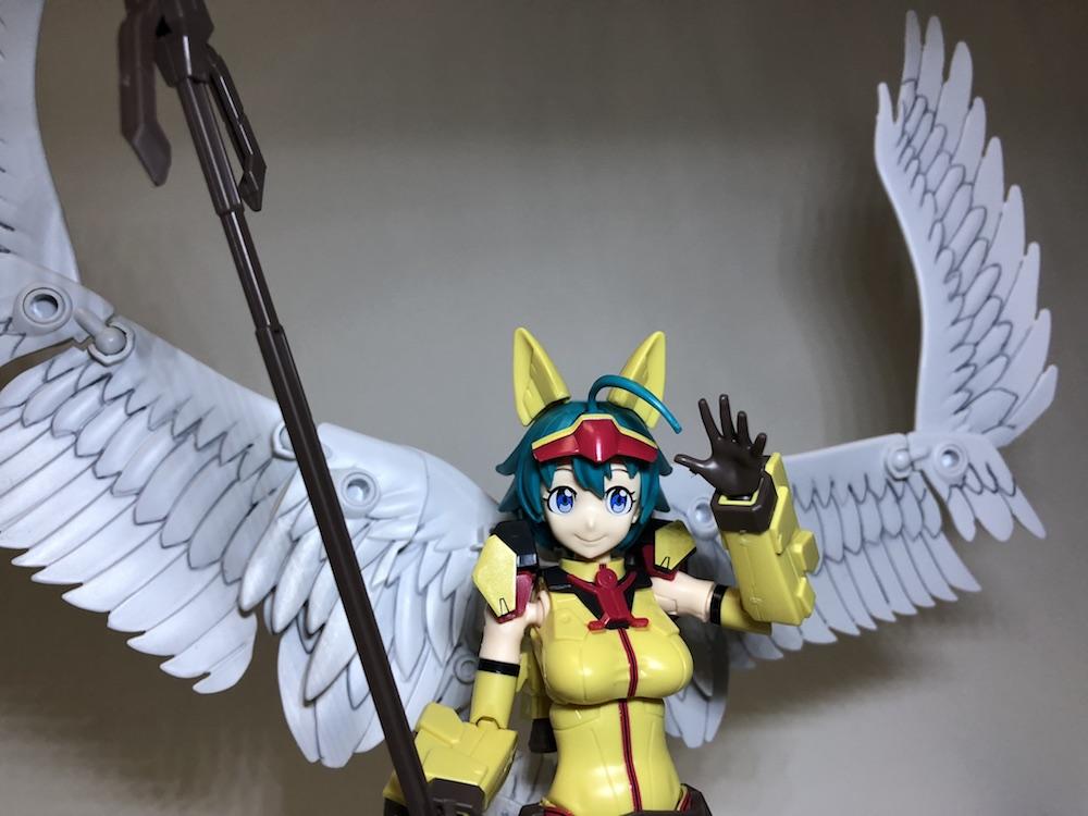 まさに天使!『 ダイバーナミ』ガンプラレビュー【フィギュアライズ】