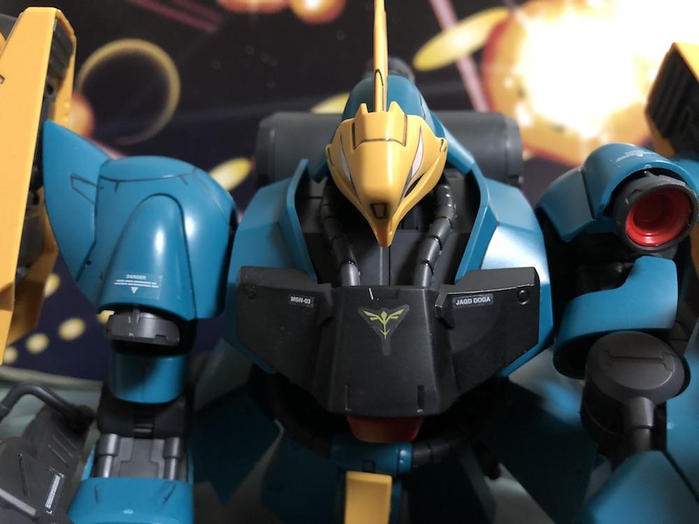 RE/100『ヤクトドーガ(ギュネイ・ガス機)』ガンプラレビュー!MG級の造形美