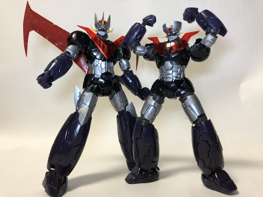 HG『グレートマジンガー Infinity』プラモ レビュー!マジンガーZと比較!
