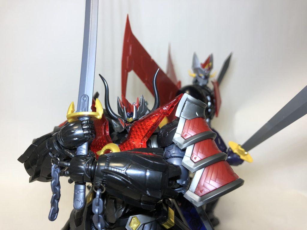 マジンカイザー刃皇 プラモデル レビュー!元ネタは何!?【moderoid】