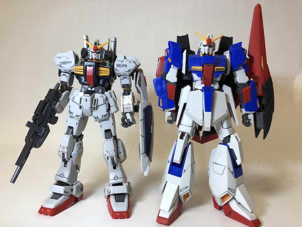 RG『ガンダムMk-2』ガンプラレビュー!HG・MGよりおすすめです!