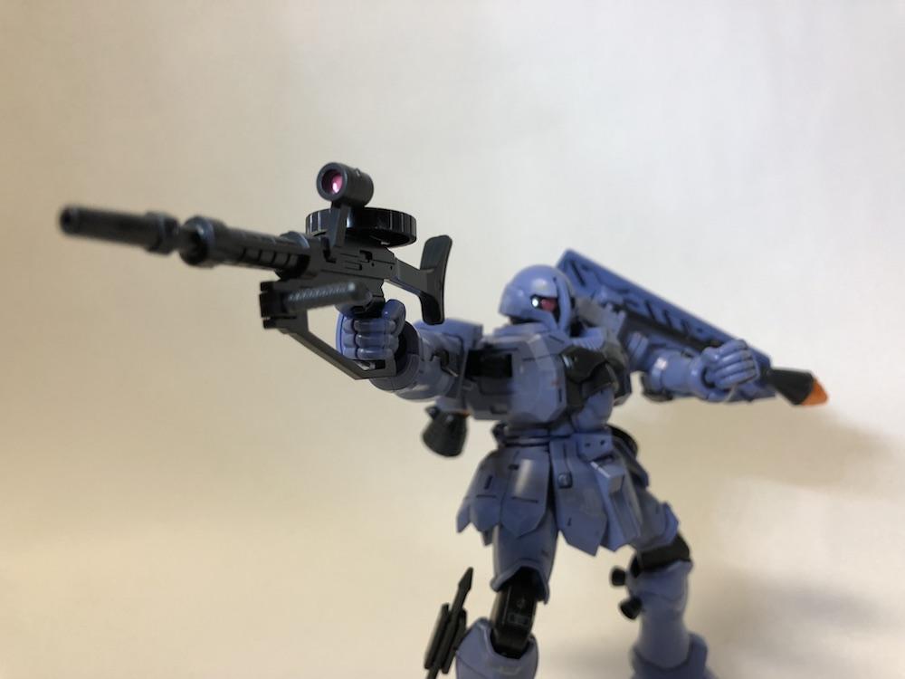 HGUC『ヅダ』ガンプラレビュー!対艦ライフルがかっこよすぎ!