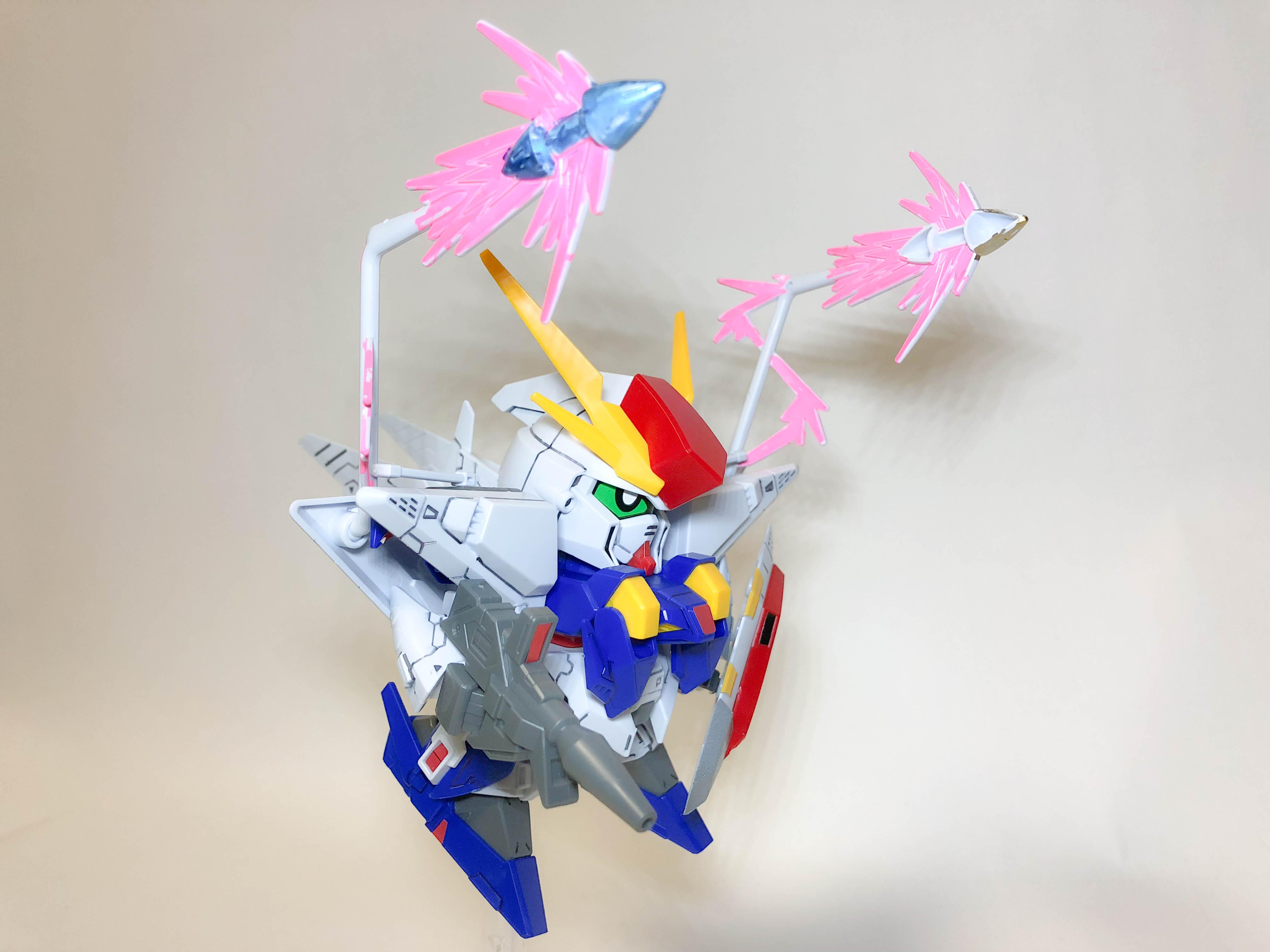 BB戦士『Ξクシィーガンダム』ガンプラレビュー&解説【閃光のハサウェイ】
