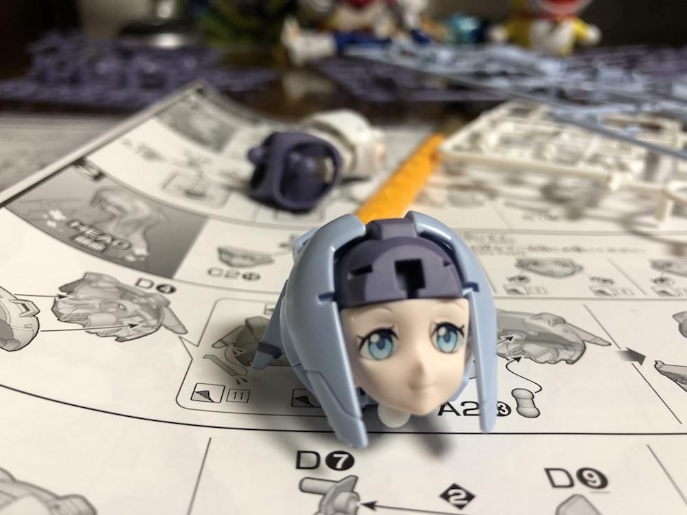 アニメのままの可愛さ!HGBD『モビルドールサラ』ガンプラレビュー!