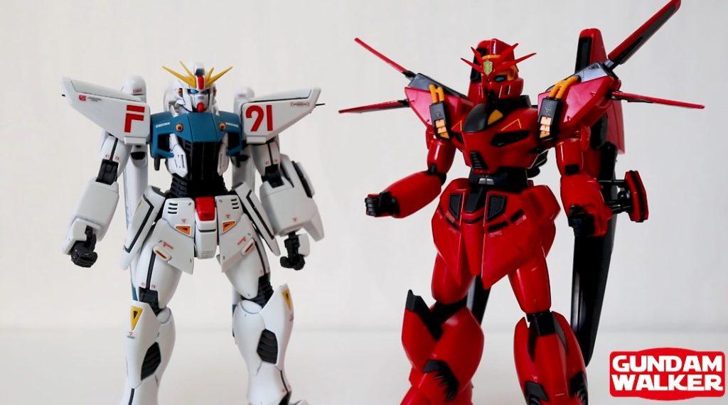 【赤いビギナ・ギナ】『RE/100 ビギナ・ギナⅡ』ガンプラレビュー!