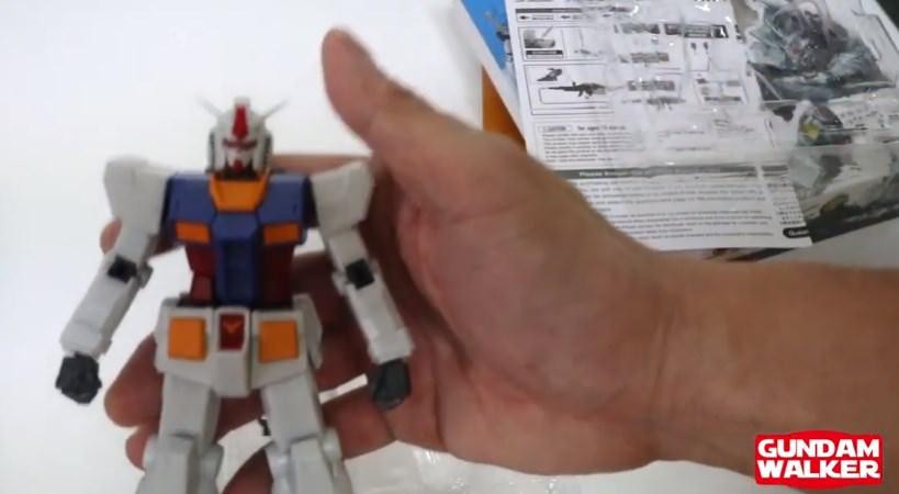 【GUNDAM UNIVERSE:ガンダムユニバース】RX78-2レビュー