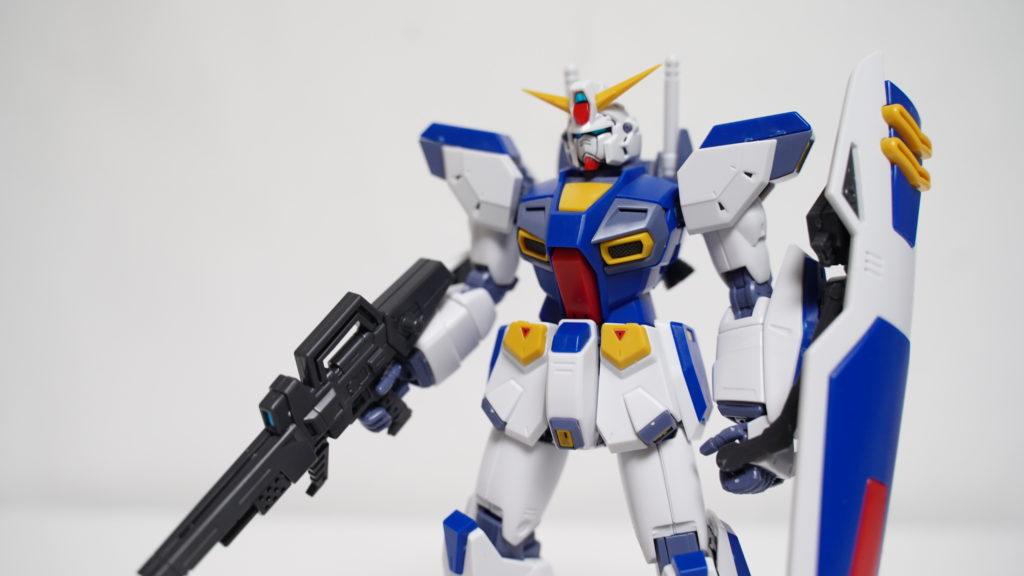 『MG ガンダムF90』ガンプラレビュー!